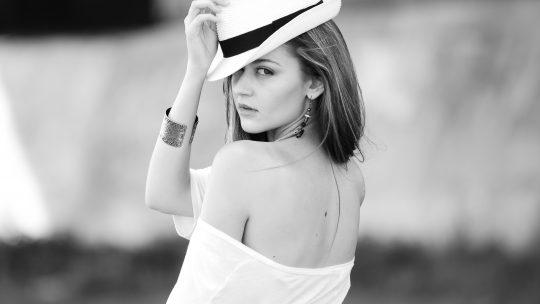 black & white fashion photography